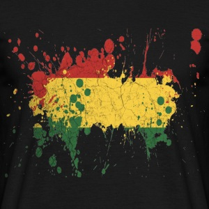 splatter rasta - Men's T-Shirt