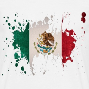splatter mexico - Men's T-Shirt