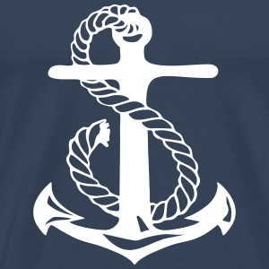 anchor skipper T-Shirts - Men's Premium T-Shirt