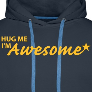 Hug me Sweat-shirts - Sweat-shirt à capuche Premium pour hommes