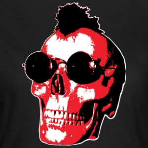 Mohawk Skull - Rock'n'Roll - Frauen T-Shirt