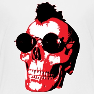 Mohawk Skull - Rock'n'Roll - Teenager Premium T-Shirt