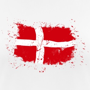Denmark Flag - Vintage Look T-Shirts - Women's Breathable T-Shirt