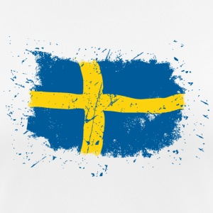 Sweden Flag - Vintage Look T-Shirts - Women's Breathable T-Shirt