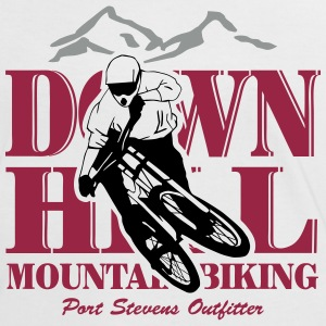 Downhill - Mountainbiking Camisetas - Camiseta contraste mujer