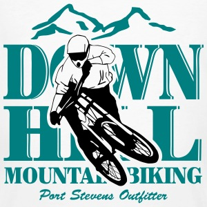 Downhill - Mountainbiking T-shirts - Mannen Bio-T-shirt