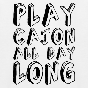 Play Cajon all day long! Kinder-Baseballshirt - Kinder Baseball T-Shirt