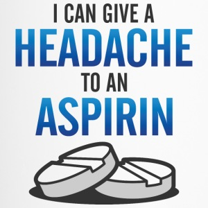I even give aspirin a headache! Mugs & Drinkware - Travel Mug