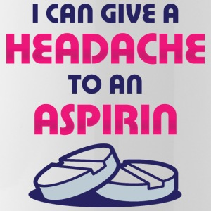 I even give aspirin a headache! Mugs & Drinkware - Water Bottle