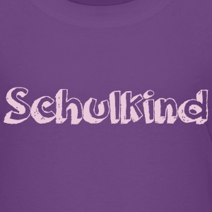 Schulkind Chalk - Kinder Premium T-Shirt
