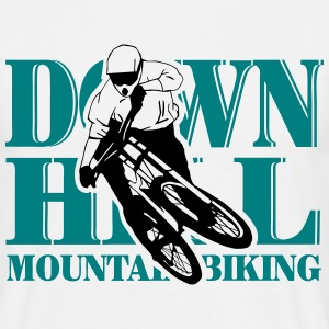 Downhill - Mountainbiking T-Shirts - Männer T-Shirt