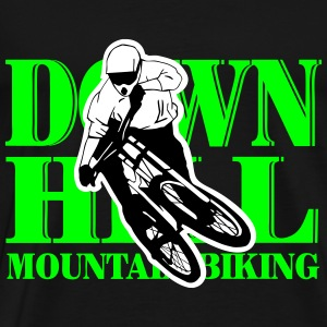 Downhill - Mountainbiking Camisetas - Camiseta premium hombre