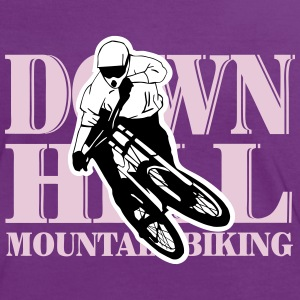 Downhill - Mountainbiking T-Shirts - Women's Ringer T-Shirt