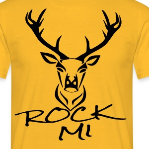 rock mi T-Shirts - Men's T-Shirt
