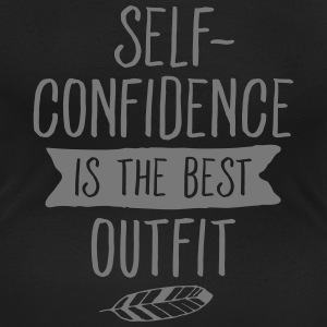 Self-Confidence Is The Best Outfit Magliette - T-shirt scollata donna