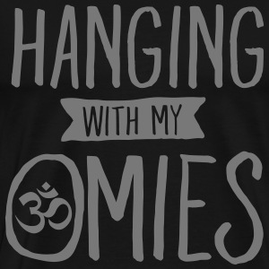 Hanging With My Omies T-shirts - Herre premium T-shirt