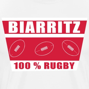 Biarritz rugby Tee shirts - T-shirt Premium Homme