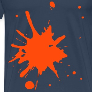 Splash orange Herren - Männer Premium T-Shirt