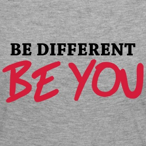 Be different - Be YOU! Manches longues - T-shirt manches longues Premium Femme