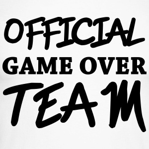 Official game over team Long sleeve shirts - Men's Long Sleeve Baseball T-Shirt