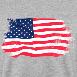 USA Flag - Vintage Look Sweatshirts - Herre sweater