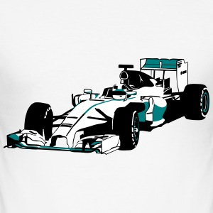 Formula 1 T-Shirts - Men's Slim Fit T-Shirt