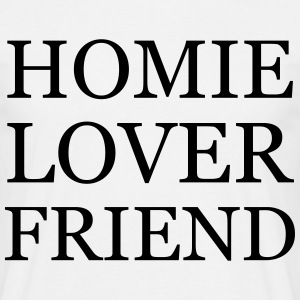 Homie Lover Friend - KOLESON COUTURE  - Men's T-Shirt