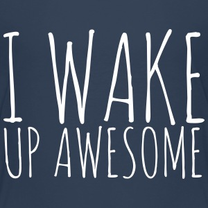 I Wake Up Awesome - KOLESON COUTURE - Kinder Premium T-Shirt