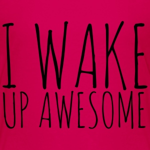 I Wake Up Awesome - KOLESON COUTURE - Kids' Premium T-Shirt