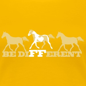 Paint Horse - Be different Tee shirts - T-shirt Premium Femme