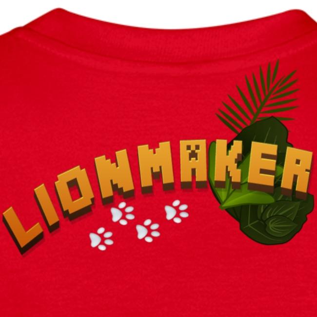 LionTeen's Shirt Light Paws