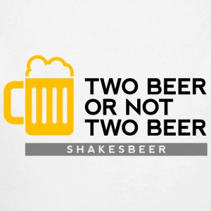 Two beer or not two beer. Shakes Beer Baby Bodysuits - Longlseeve Baby Bodysuit