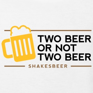 Two beer or not two beer. Shakes Beer! Shirts - Kids' Organic T-shirt