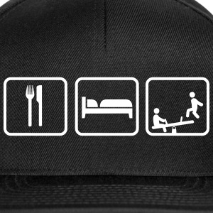 Eat Sleep Play Caps & Mützen - Snapback Cap