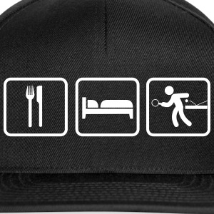 Eat Sleep Tischtennis, Eat Sleep Ping Pong Casquettes et bonnets - Casquette snapback