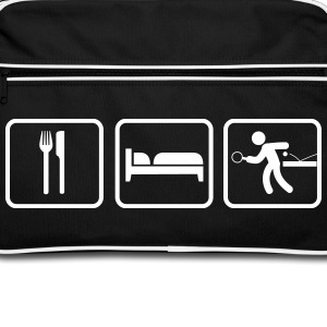 Eat Sleep Tischtennis, Eat Sleep Ping Pong Bags & Backpacks - Retro Bag