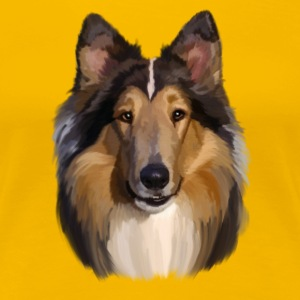 Collie T-shirts - Vrouwen Premium T-shirt