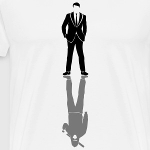 Suits vs Bat T-Shirts - Men's Premium T-Shirt
