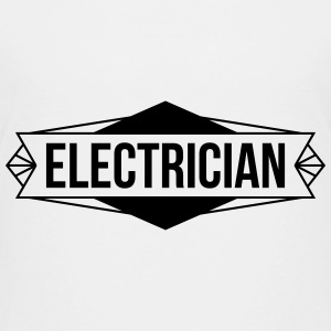 Electrician / Electricity / Electricien / Electric Shirts - Teenage Premium T-Shirt