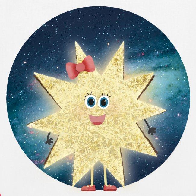 Stella Stern: Galaxy Bio-Jutetasche