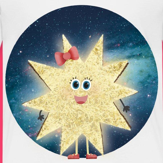 Stella Stern: Galaxy Kinder-Shirt