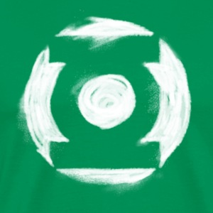 Green Lantern Painted Homme Tee Shirt - T-shirt Premium Homme