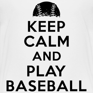 Keep calm and play baseball Shirts - Kids' Premium T-Shirt