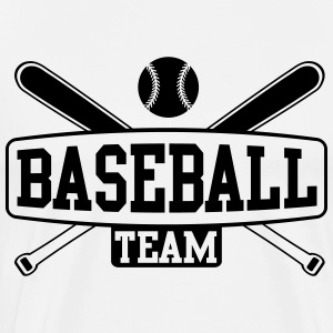 Baseball Team T-skjorter - Premium T-skjorte for menn