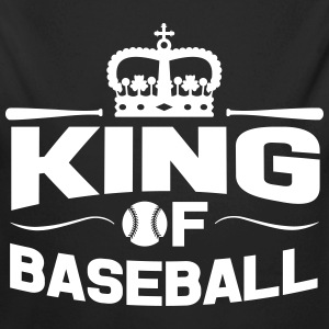 King of Baseball Baby Bodys - Baby Bio-Langarm-Body