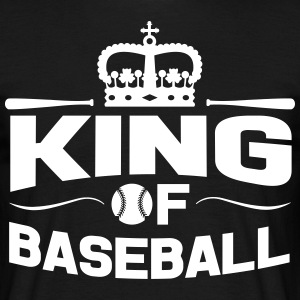 King of Baseball T-skjorter - T-skjorte for menn