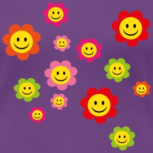 smiley T-Shirts - Frauen Premium T-Shirt