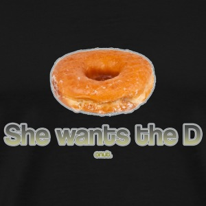 She Wants the Donut T-Shirts - Men's Premium T-Shirt