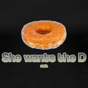 She Wants the Donut T-Shirts - Women's Premium T-Shirt