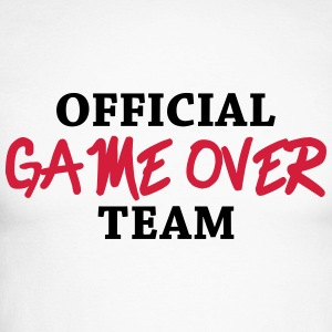 Official game over team Maglie a manica lunga - Maglia da baseball a manica lunga da uomo